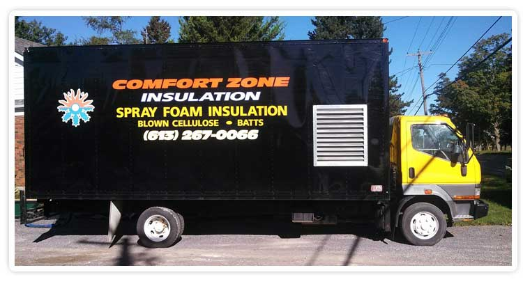 Comfort Zone Insulation -Trucks